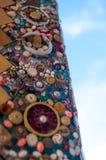在WAT PHA SORN KAEW寺庙的样式灰泥 免版税库存图片