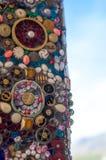 在WAT PHA SORN KAEW寺庙的样式灰泥 库存照片
