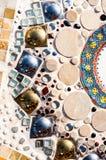在WAT PHA SORN KAEW寺庙的样式灰泥 库存图片