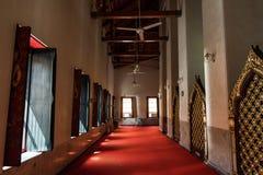 在Wat Pho寺庙里面 免版税库存图片