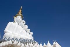 在wat phra儿子keaw的菩萨雕象 免版税库存图片