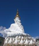 在wat phra儿子keaw的菩萨雕象 库存图片