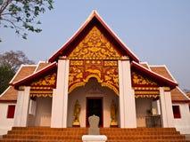 佛教Monastry, wat Phra kao noi,南泰国 免版税库存照片