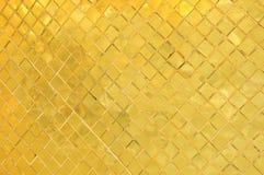 在Wat Phra Kaew的金子纹理 免版税库存图片