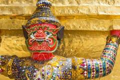 在Wat Pra Kaew,曼谷泰国的巨人 图库摄影