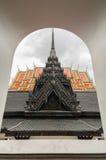 在Wat Rachanutda寺庙的Loha prasart在曼谷,泰国 免版税库存图片