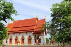 在Wat Uthai的寺庙 库存图片