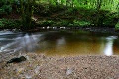 在Watersmeet的弯曲处水池 库存照片