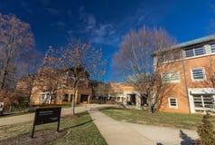 在WFU的Worrell专业中心 免版税库存照片