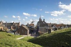 在Willenstad的看法 库存图片