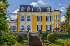在Worthersee,奥地利的别墅 免版税库存照片