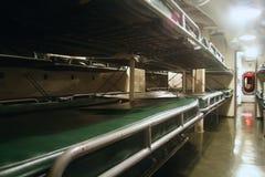 在WW2潜水艇的床 免版税库存图片