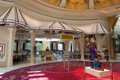 在Wynn旅馆里面的Bartolotta餐馆,拉斯维加斯 库存图片
