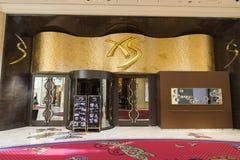 在Wynn旅馆里面的XS夜总会在拉斯维加斯 免版税库存照片
