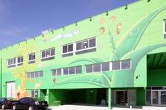 在Wynwood的艺术壁画 免版税库存照片