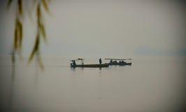 在XI虎队,中国的小船 库存图片