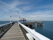 在Yarmouth的码头 免版税库存图片