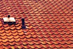 在yiur的屋顶 免版税库存照片