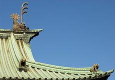 在Yushima Seido的屋顶 库存图片