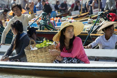Inle湖-掸邦-缅甸 免版税库存图片