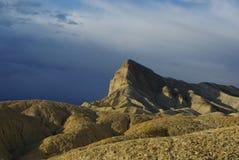 在Zabriskie点附近,死亡谷,加利福尼亚 免版税图库摄影