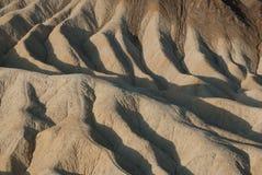 在Zabriskie点,死亡谷的日出 免版税库存图片
