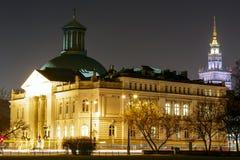 在Zacheta大厦的美国国家艺廊 免版税库存照片