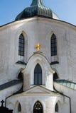 在Zdar nad Sazavou附近的Zelena Hora 免版税库存图片
