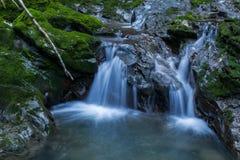 在Zeleni虚象的两瀑布 库存照片