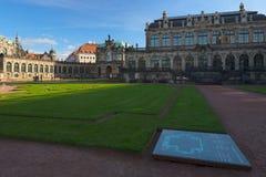 在Zwinger里面,德累斯顿, Deutschand 库存照片