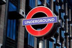 地下伦敦 库存照片
