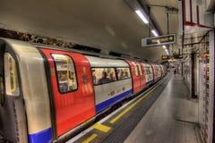 地下伦敦 免版税图库摄影