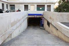 地下停车处 图库摄影