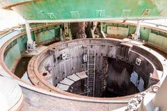 地下发射井入口 免版税图库摄影