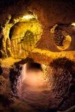 地下城市在土耳其 库存图片