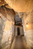 地下墓穴网络,傲德萨,乌克兰 免版税库存图片