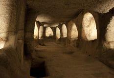地下墓穴 库存照片