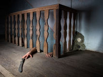 地下室恐惧 图库摄影
