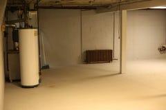 地下室视图 库存照片