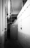 地下室走廊 免版税库存照片