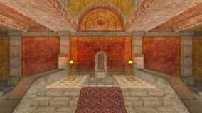 地下寺庙 库存图片
