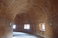 地下清真寺的看法 库存图片