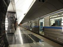 地下莫斯科 免版税库存图片