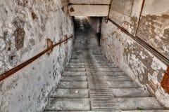 地下过道在老镇 库存图片