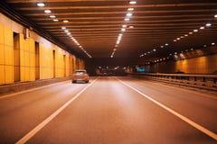地下隧道 免版税库存照片