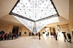地下1个入口天窗博物馆 免版税库存图片