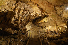 地下grottes 免版税库存照片