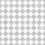 织地不很细织品的Backgro苍白灰色和白对角验查员 免版税图库摄影
