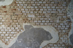 织地不很细墙壁为背景使用 库存照片
