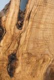 织地不很细橄榄色的木头 免版税图库摄影